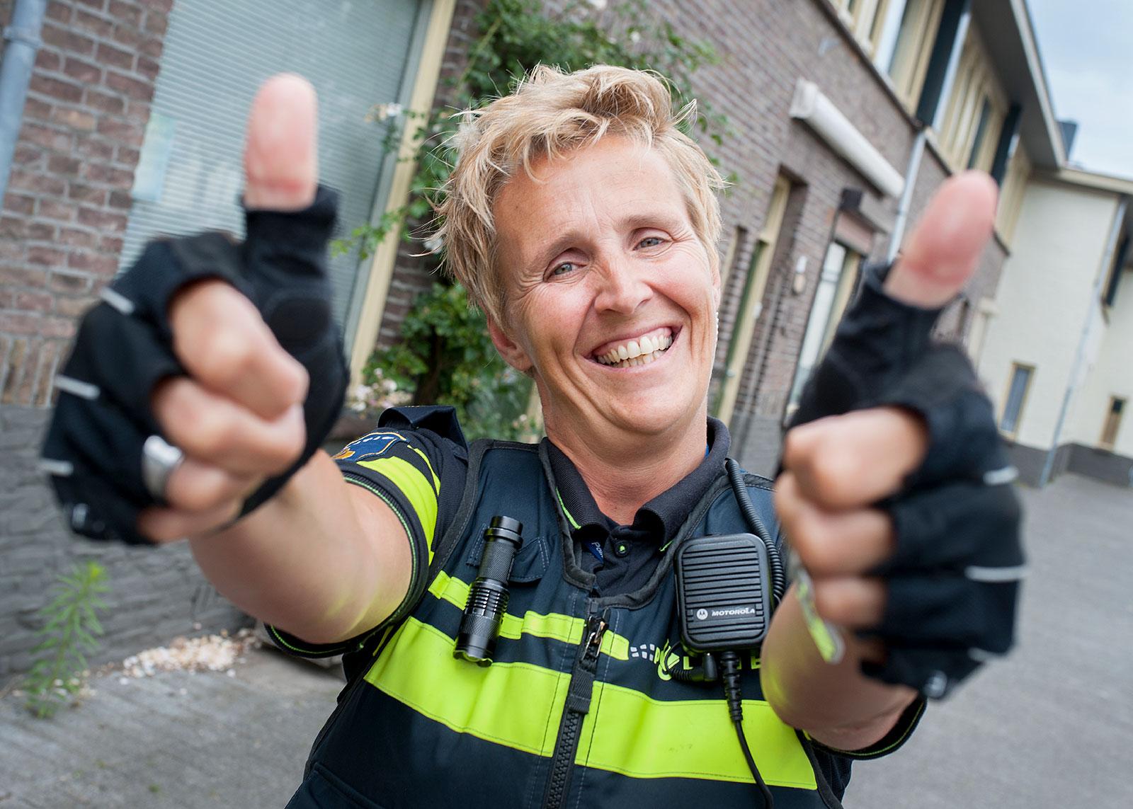 Wijkagent Linda Robben